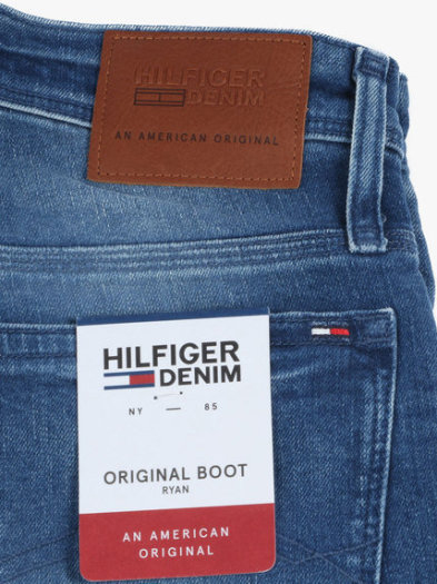 Hilfiger jeans with label